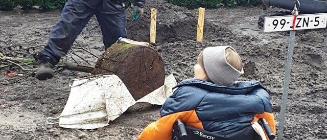 EOKS bewoonster boom aanplant