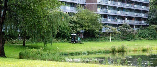 gras maaien flat