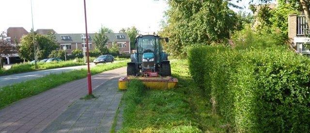 Ruig gras maaien Zoetermeer
