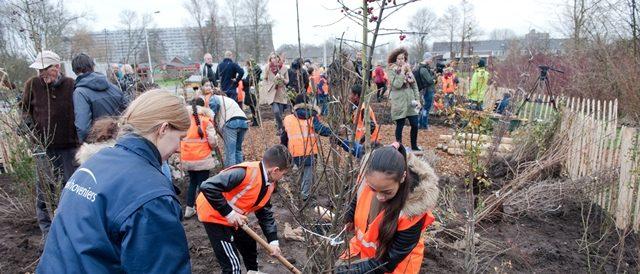 planten bomen kinderen