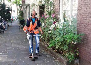 onkruidvrij bosmaaier Amsterdam